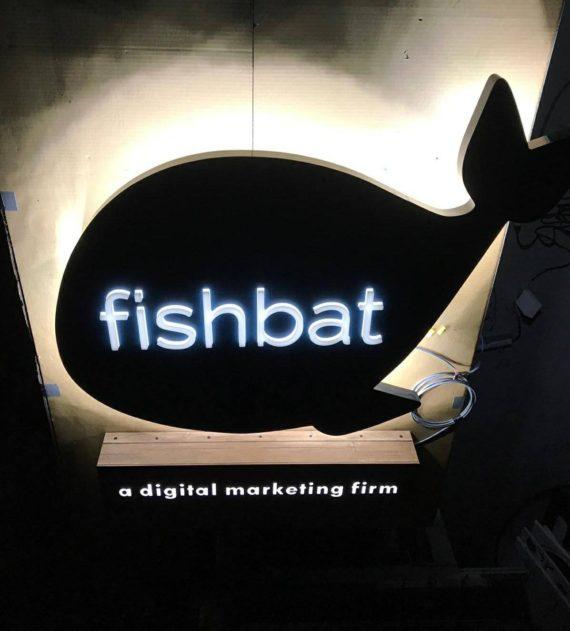 Fishbat LED Sign